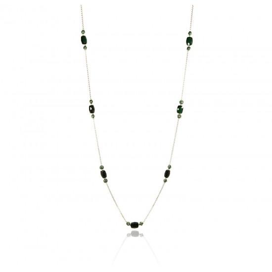 Lyris long-hanging necklace