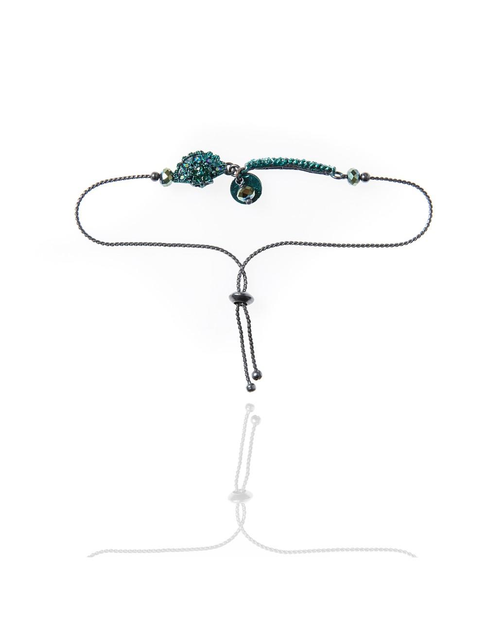 Bracelet Telly émeraude