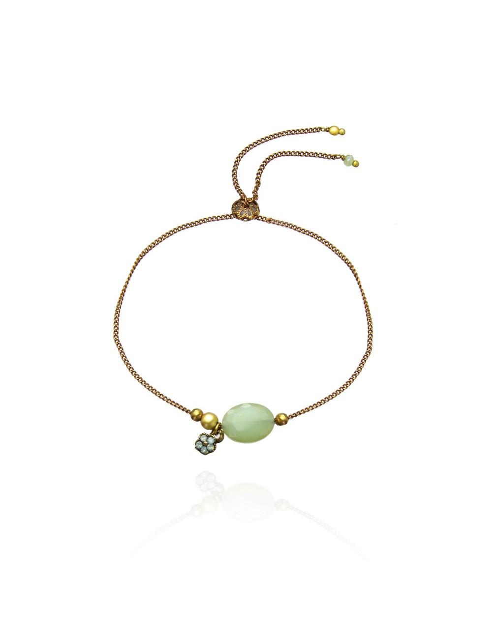 Bracelet sur chaine façon cordon Yendy
