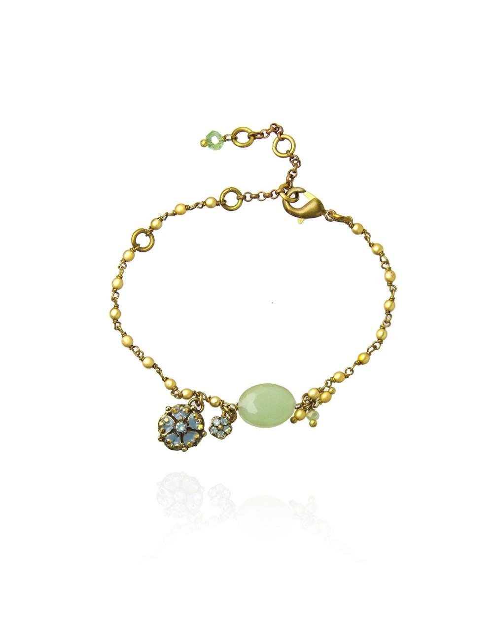 Bracelet chaine perlée Yendy