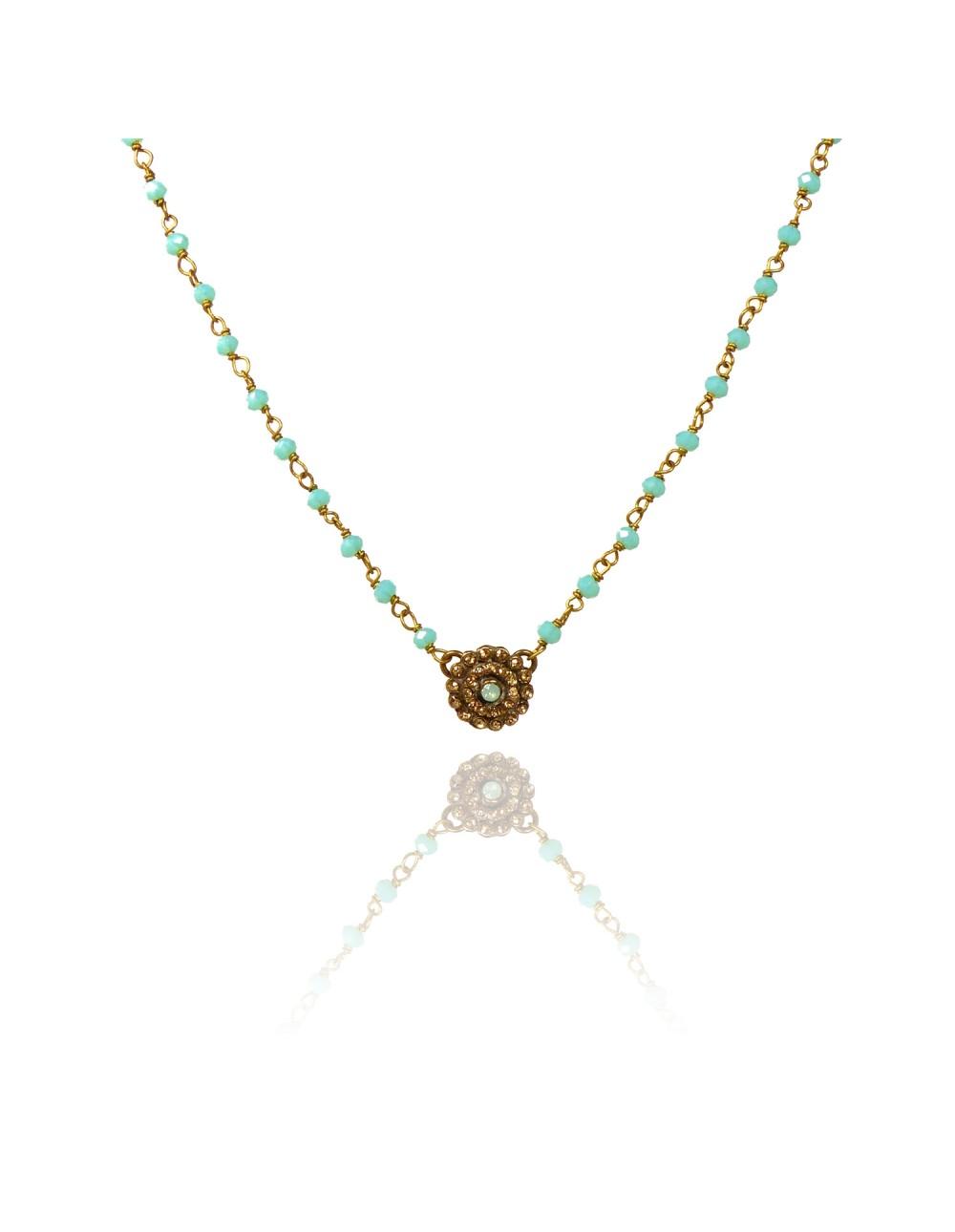 Collier Delya turquoise