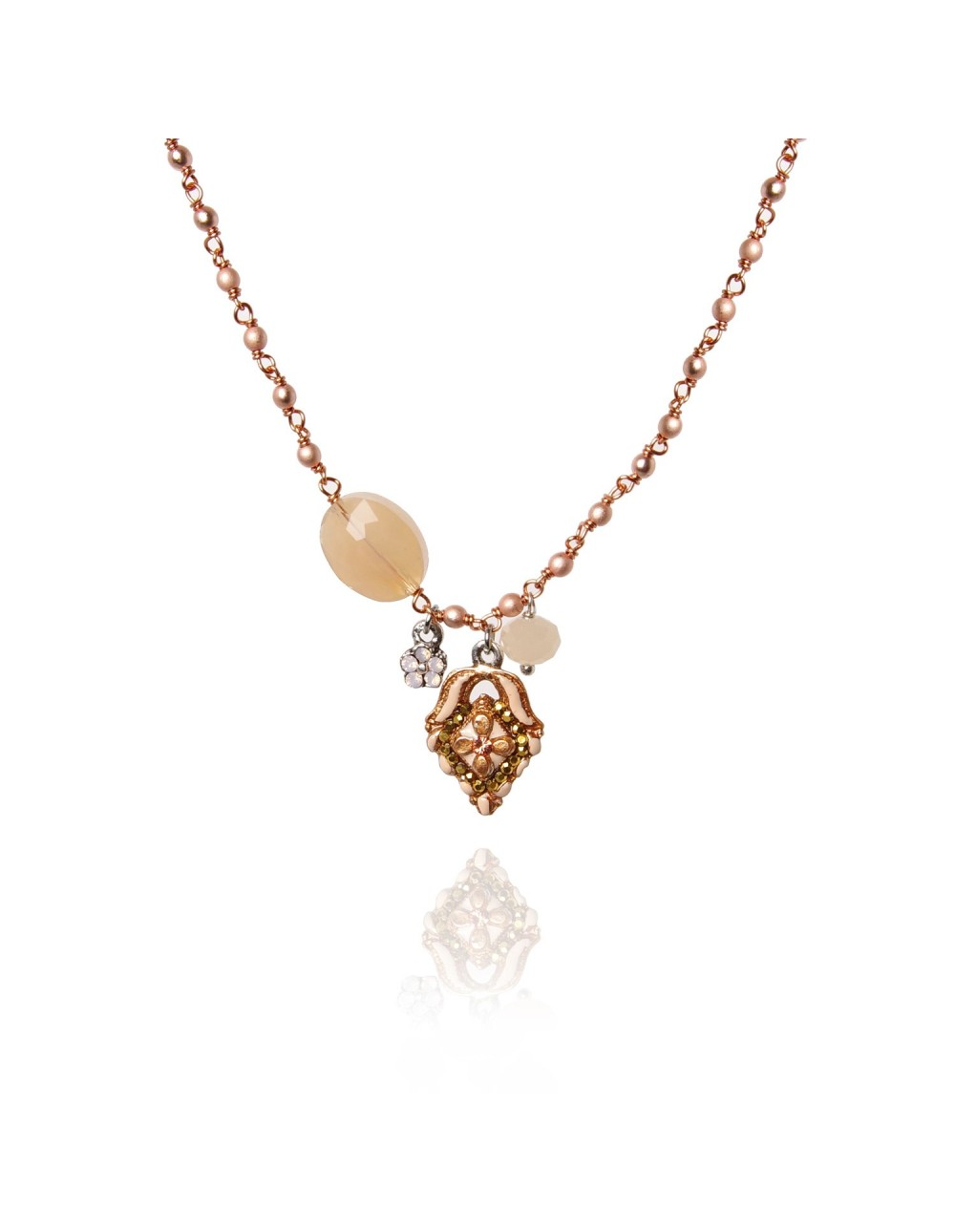Collier perlé Yendy