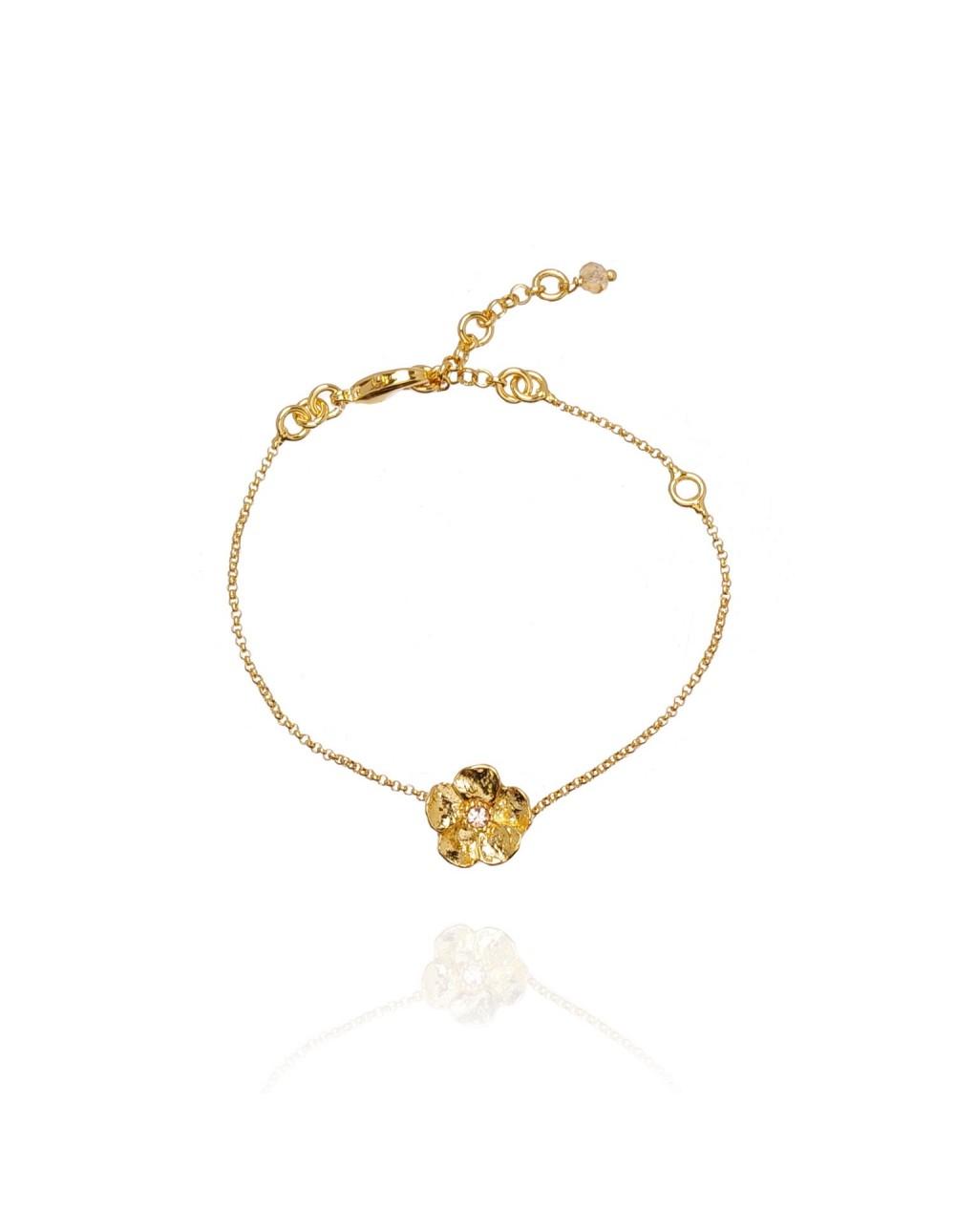 Bracelet Bloem Doré