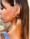 Boucles d'oreilles Bloem Doré