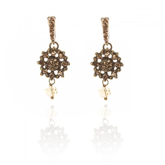 Plumetis Saoya earrings