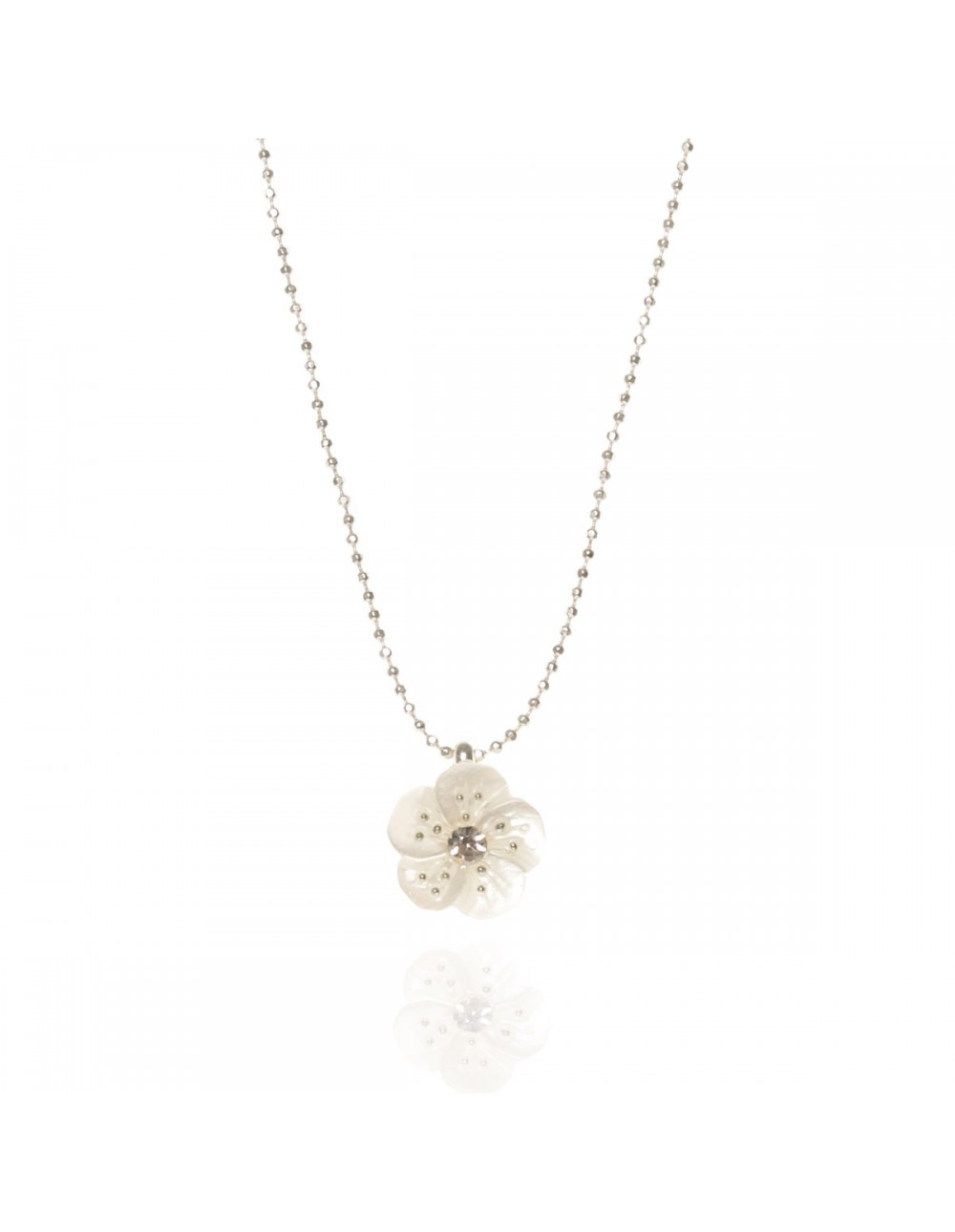 Pendentif Hellébore blanc