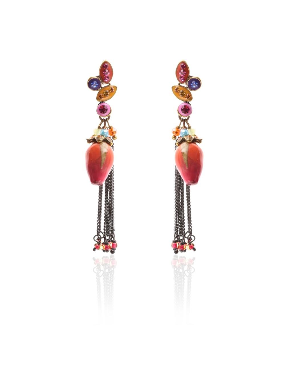 Boucles d'oreilles Pépita
